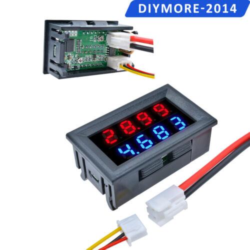 DC 100V 10A//50A Voltmeter Ammeter 3//4 Bit Dual LED Digital Volt Amp Meter Gauge