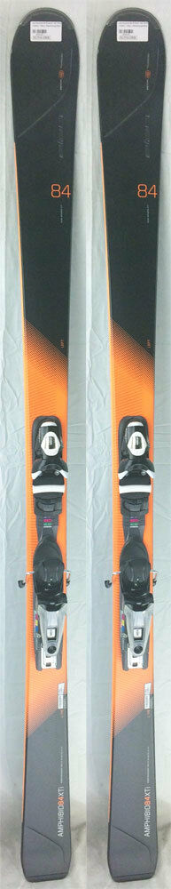 2016-17 Elan Amphibio 84 Xti 164 cm Skis with Axium 120 Bindings - NEW