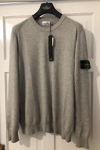 Stone-Island-Sweatshirt-Grey-Large