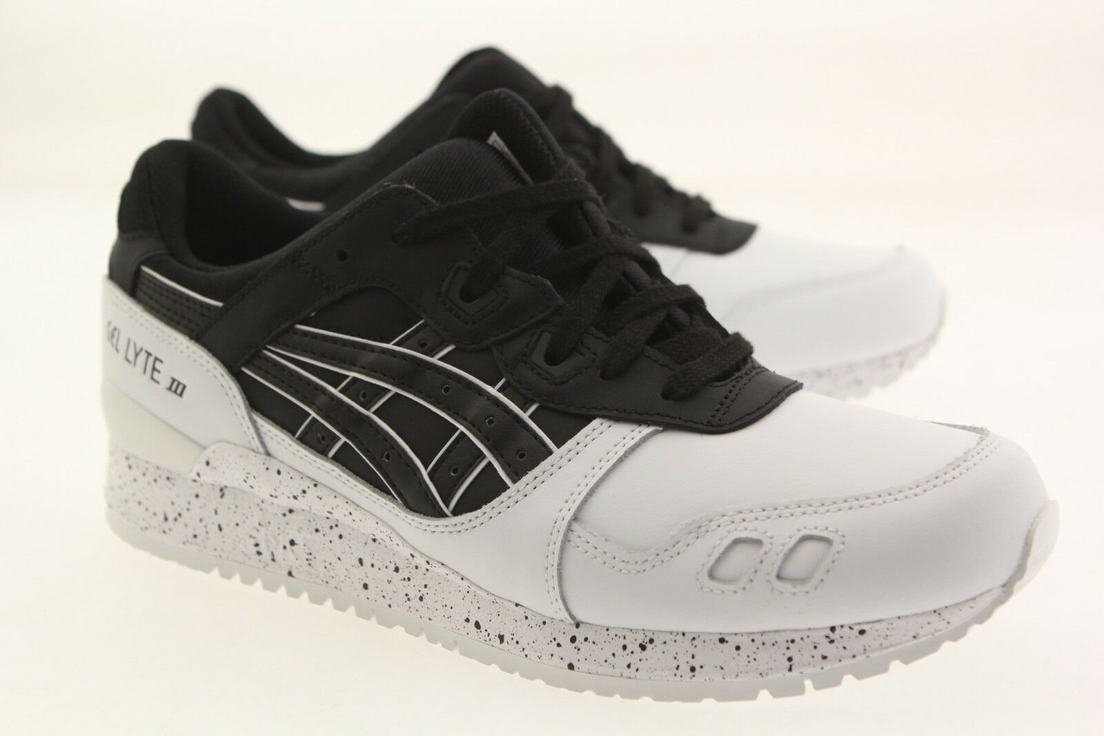 Asics Tiger hommes Gel-Lyte III noir noir Blanc H6T1L-9090