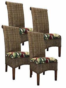 Kubu Rattan Dining Chair (4-PACK) 9500244775364 | eBay