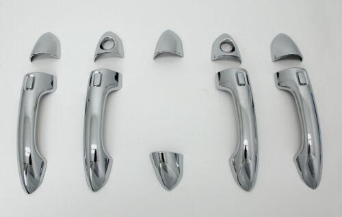 Accessoires Pour Kia Carens IV 2013-2019 Chromé Poignée de porte ouverture bouchons Couverture