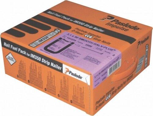 Paslode Impulse Packs 2,8x63 Galv//Plus 3.300//3 St.