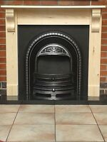 Fire Surround with corbels /pine mantel solid pine