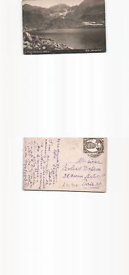 (b92920) Foto-ansichtskarte Gebirgssee Von Sofia Bulgarien 1925 Nach Pari 100% Garantie