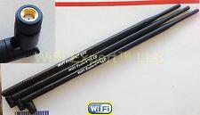 3 9dBi 2.4GHz 5GHz Dual Band RP-SMA WiFi Antenna Asus RT-AC66U RT-N66U RT-N16