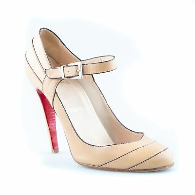77588fac70b Christian Louboutin Mary Jane Pumps - Size 40.5
