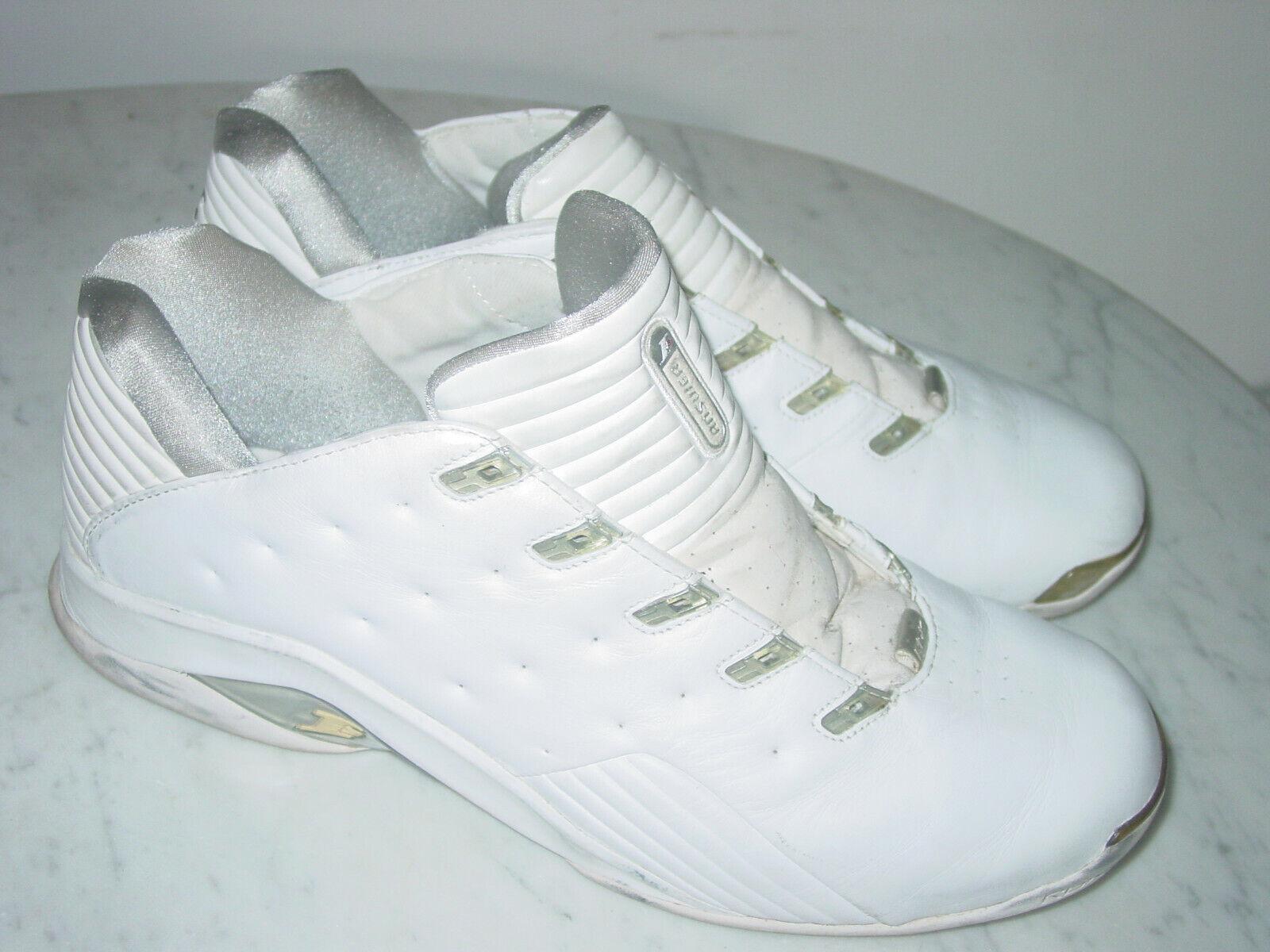 2003 para Hombre Reebok Allen Iverson Answer 7 4-101488 blancoo  Zapatos de baloncesto