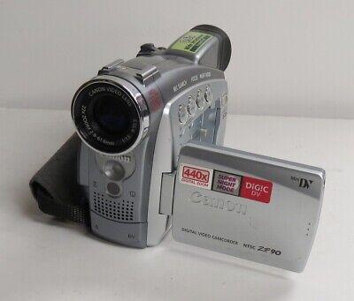 Bescheiden Canon Digital Video Camcorder Ntsc Zr90 440x Digital Zoom Read Description Voldoende Aanbod
