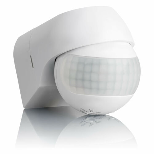 2x Bewegungssensor Bewegungsmelder Außen Aufputz Wand Infrarot Sensor SEBSON
