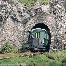BUSCH 8610 Spur G Tunnelportale, Dampflokportale, 2 Stück, Neu