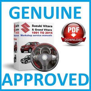 suzuki gr vitara diesel service manual