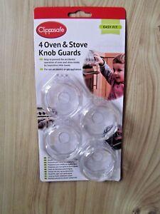 Clippasafe Oven Knob Guards