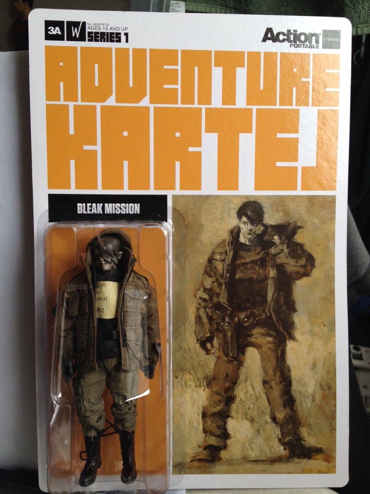 3A ThreeA Ashley Wood Action Portable Bleak Mission Adventure Kartel 1/12 scale