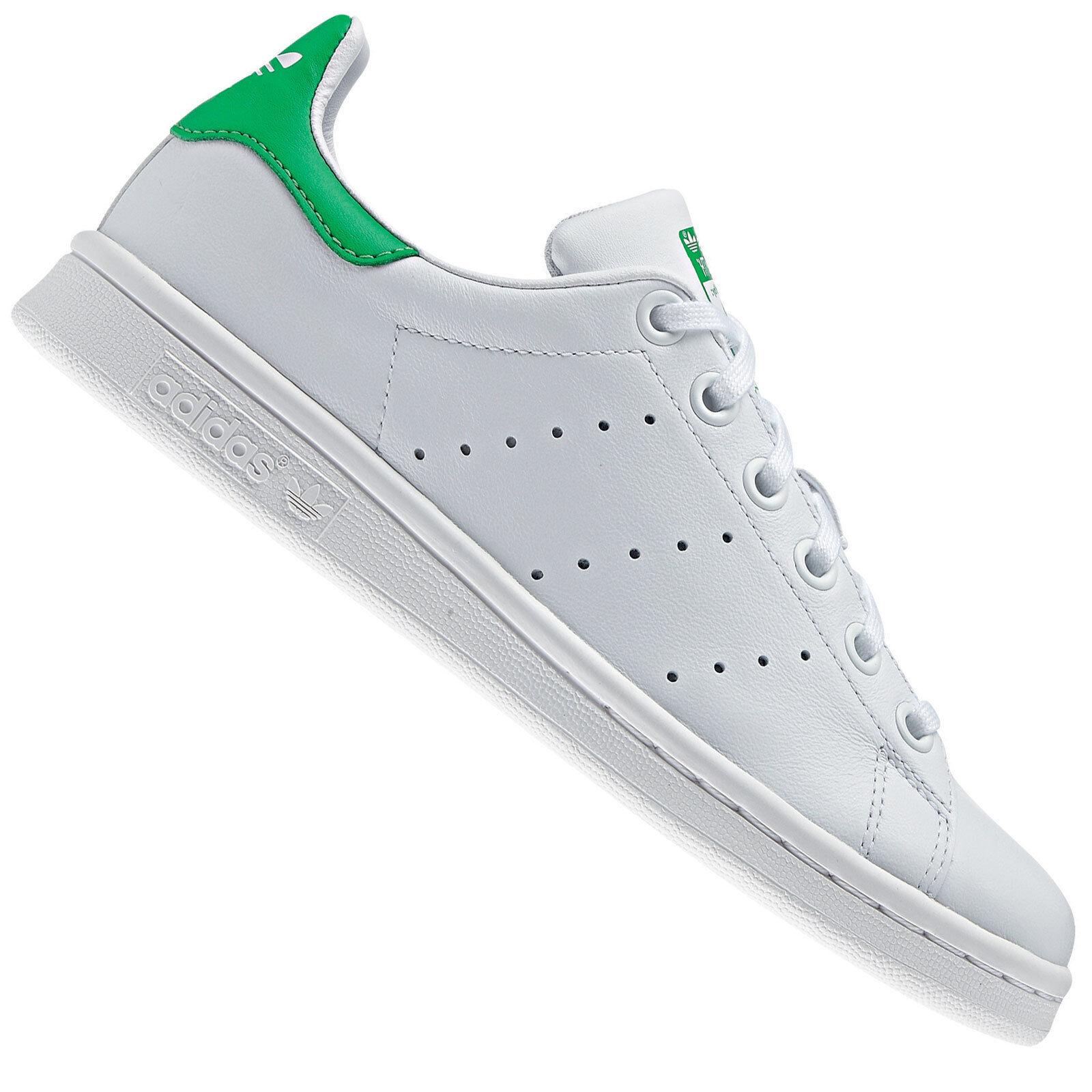 Adidas señora Originals Stan Smith J señora Adidas para zapatillas de m20605 Blanco/Verde zapatillas de deporte zapatos 112add