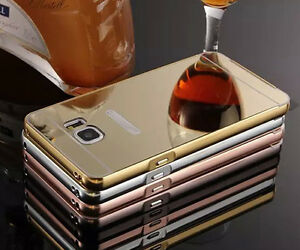 Fashion-2in1-Metal-Aluminum-PC-Mirror-Back-Removable-Frame-Lot-Case-Cover