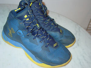 6aefbf997860 2016 Mens Under Armour Curry 2.5 Team Royal 1274425-400 Shoes! Size ...