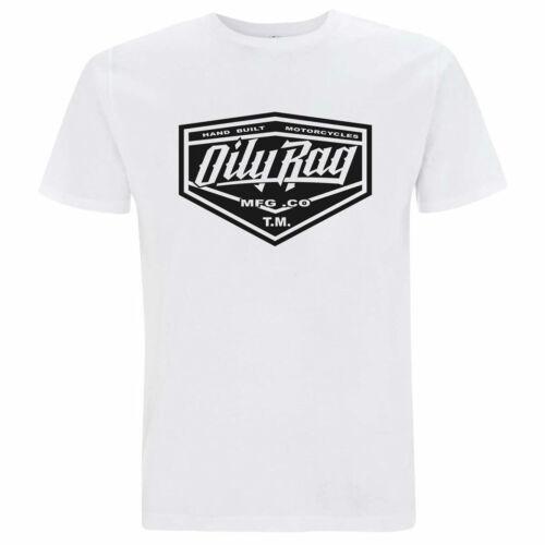 Oily Rag Clothing Manufacturing T-Shirt White