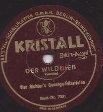 Die vier Richters Gesangs-Gitarristen : Der Fremdenlegionär + Der Wilddieb