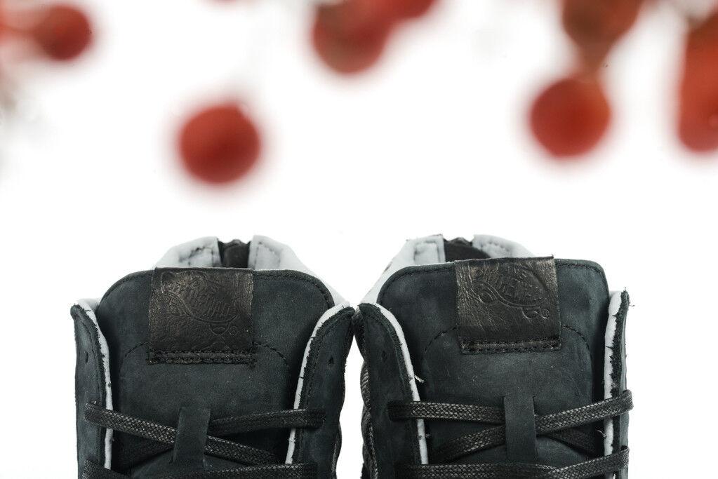 VANS SK8 HI NUBUCK ZIP CA ITALIAN WEAVE NUBUCK HI VN-XH9HUG  Herren SZ 6.5 Schuhe NEW 3e707b