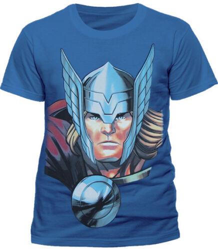 Officiel Marvel T-shirt Classic Thor Son of Asgard Blue M VENGEURS
