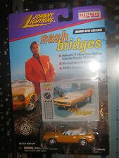 NASH BRIDGES 1971 HEMI CUDA HOLLYWOOD ON WHEELS JOHNNY LIGHTNING JL 1/64 U A