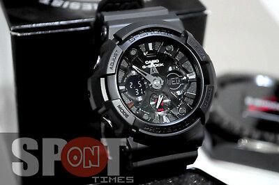 Casio G-Shock High Value Combination Men's Watch GA-201-1A  GA201 1A