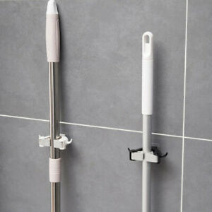 Wall-Mounted-Mop-Organizer-Holder-Hanger-Storage-Rack-Kitchen-Hook-Suction-npSP