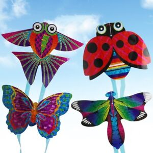 Cartoon-Insect-Aircraft-Mini-String-Flying-Kites-Children-Kids-Toy-Outdoor-Sport