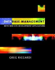 Database Management: With Website Development Applications-ExLibrary