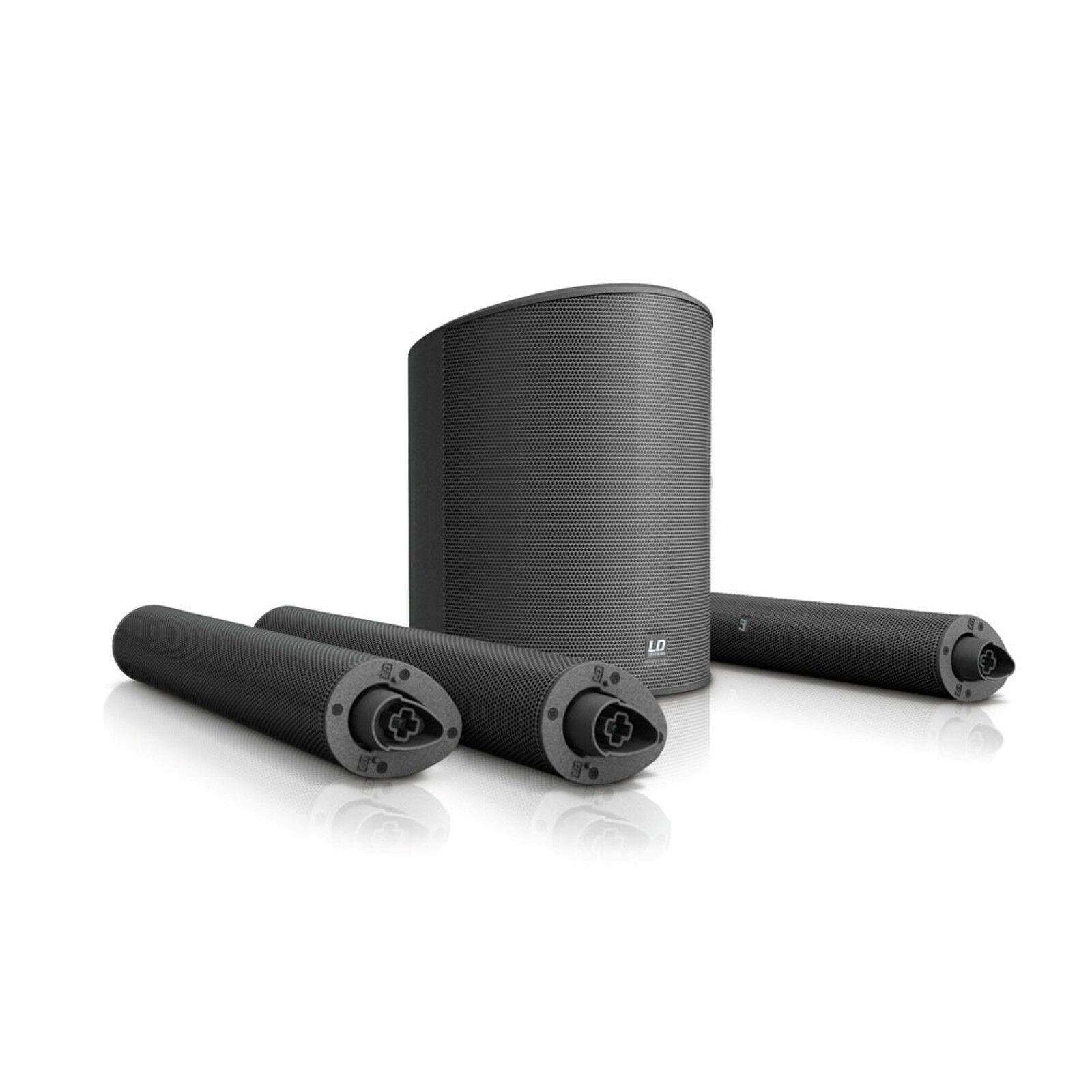 LD Systems MAUI 5 - Ultra portables Säulen PA System mit Mixer MAUI 5 PA System