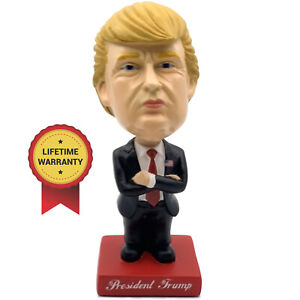 President Trump Bobblehead - Vehicle Dashboard Edition - Includes Attachment Kit