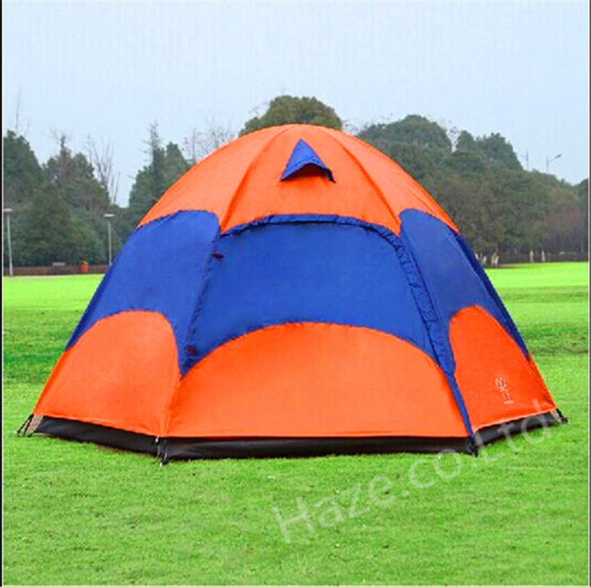 New 5-8 Person Family Instant Tent Hiking Camping Outdoor Waterproof