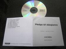 PLEDGE OF ALLEGIANCE TOUR RARE PROMO CD SYSTEM OF A DOWN SLIPKNOT MUDVAYNE