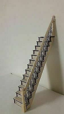 Assembled left-hand rail 1:24 Victorian Straight Staircase