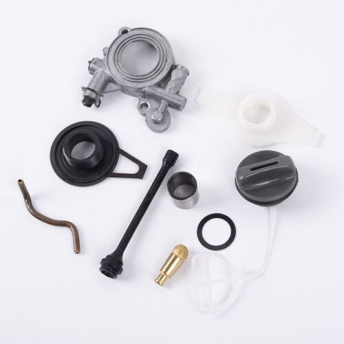 For Husqvarna 372XP 365 371 385 390 362 Chainsaw Parts Oil Pump Line Gear Kit