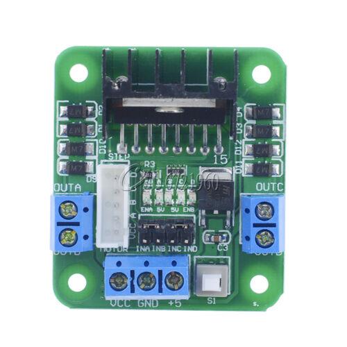 New L298N Dual H Bridge DC Stepper Motor L298N Drive Controller Board Module