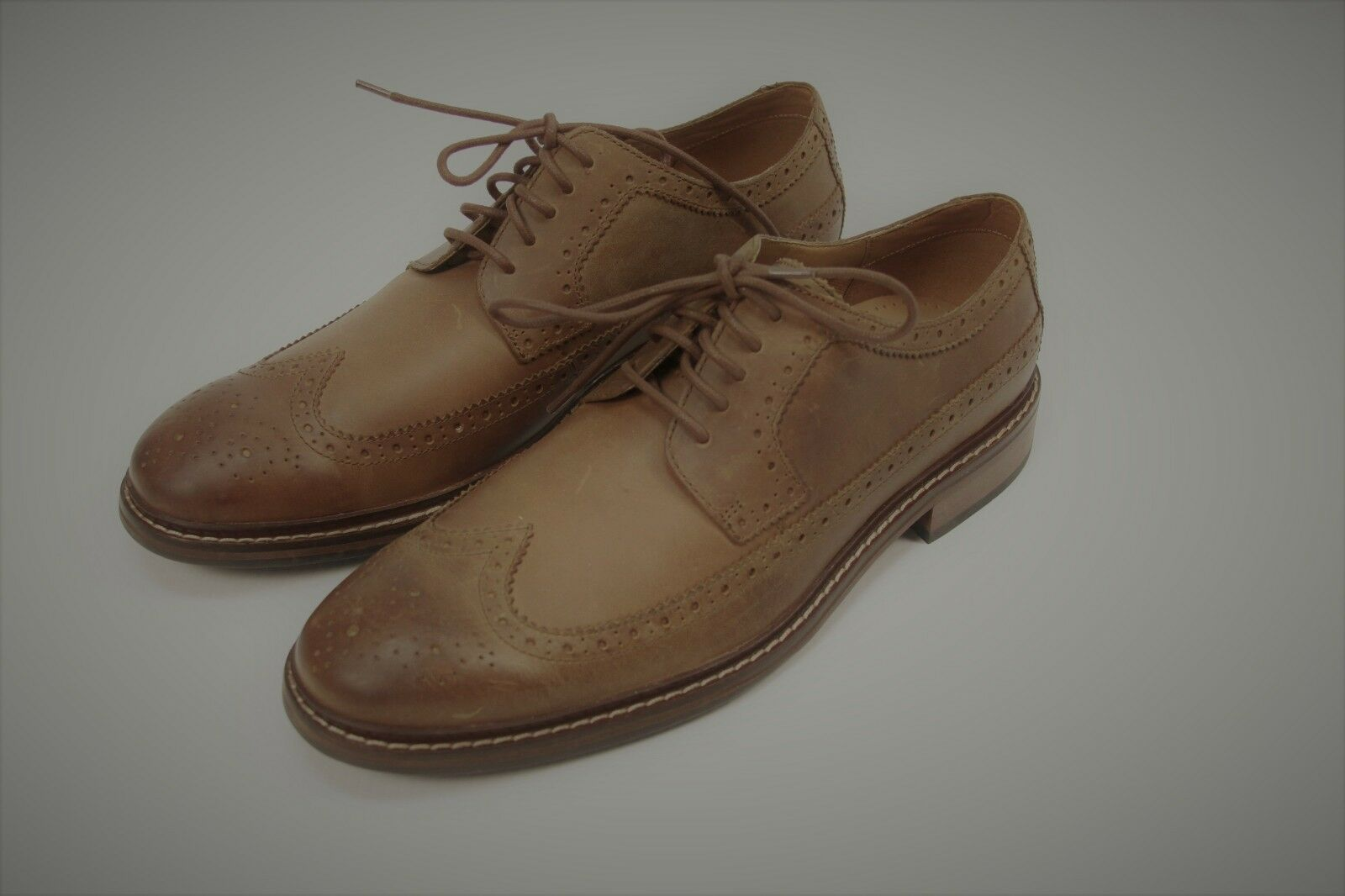 Authentic Cole Haan Men's casual oxfords lace up leather shoes 11 M