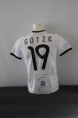Deutschland Trikot, Mario Götze signiert, DFB, Borussia Dortmund, BVB, 152