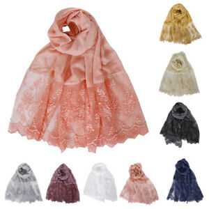 Women-Muslim-Cotton-Scarf-Long-Scarves-Lace-Bead-Wraps-Shawl-Pearl-Hijab-Cape