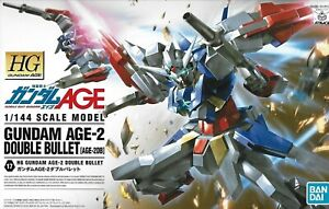 Bandai Gunpla High Grade HG 1/144 Gundam AGE-2 Double Bullet