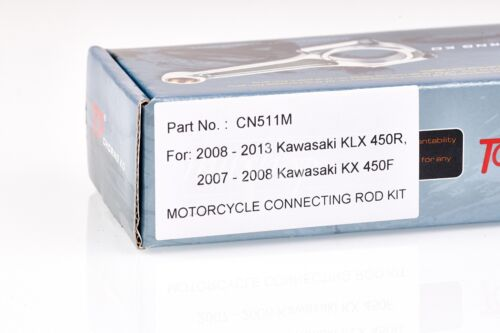 TOP® Kawasaki Connecting Rod Kit Peek Bearing For 08-13 KLX450R 2007-2008 KX450F