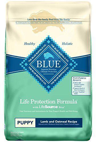 blu Buffalo Dry Food for Puppies Lamb & Oatmeal Recipe 30-Pound Bag