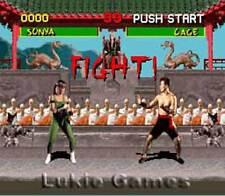 Mortal Kombat - SNES Super Nintendo Game