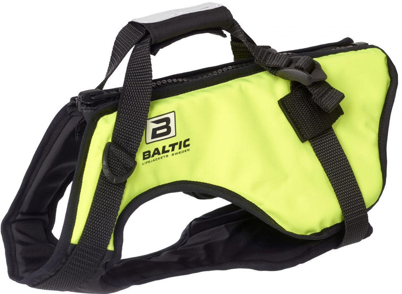 Baltic Hunde Hunde Hunde Rettungsweste Zorro gelb (Mod.0440) Reißverschluss Bauchschutz 4a994b