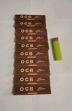 OCB Slim cale carton lot de 20 carnets de feuilles à rouler longue filtre