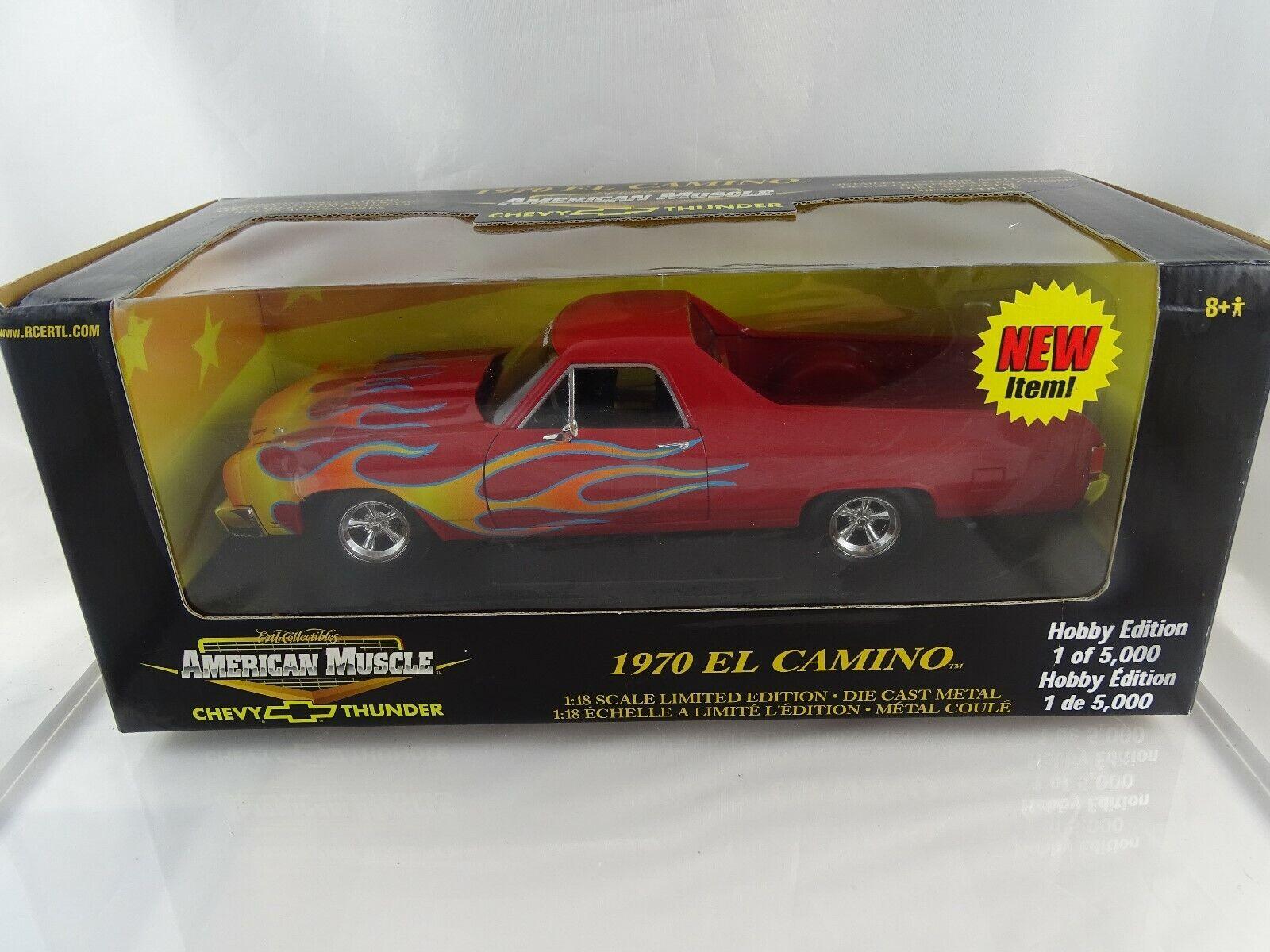 1 18 Ertl American Muscle  36988 1970 EL Camino Limited Edition Neu OVP