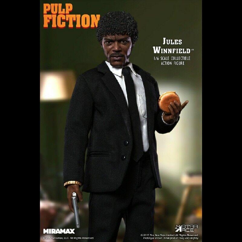 Estrella Ace-Pulp Fiction  Jules Winnfield escala 1 6 Figura De Acción-Nuevo