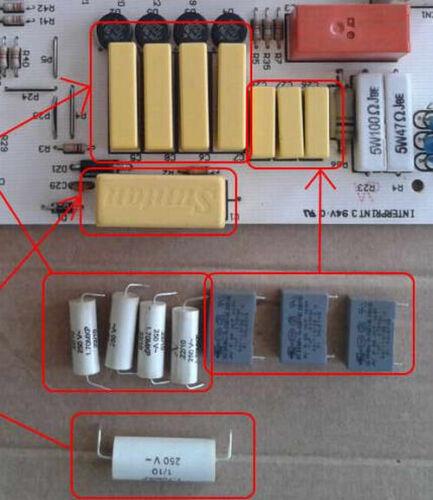 Whirlpool//hotpoint//smeg réfrigérateur américain kit reparation carte puissance