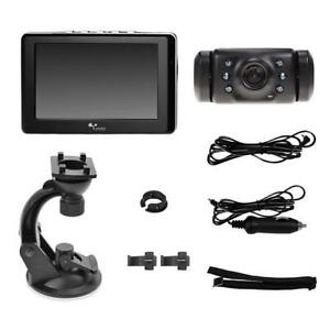 "Yada Wireless Backup Camera System w/ 4.3"" Color LCD Dash Monitor Refurbished"